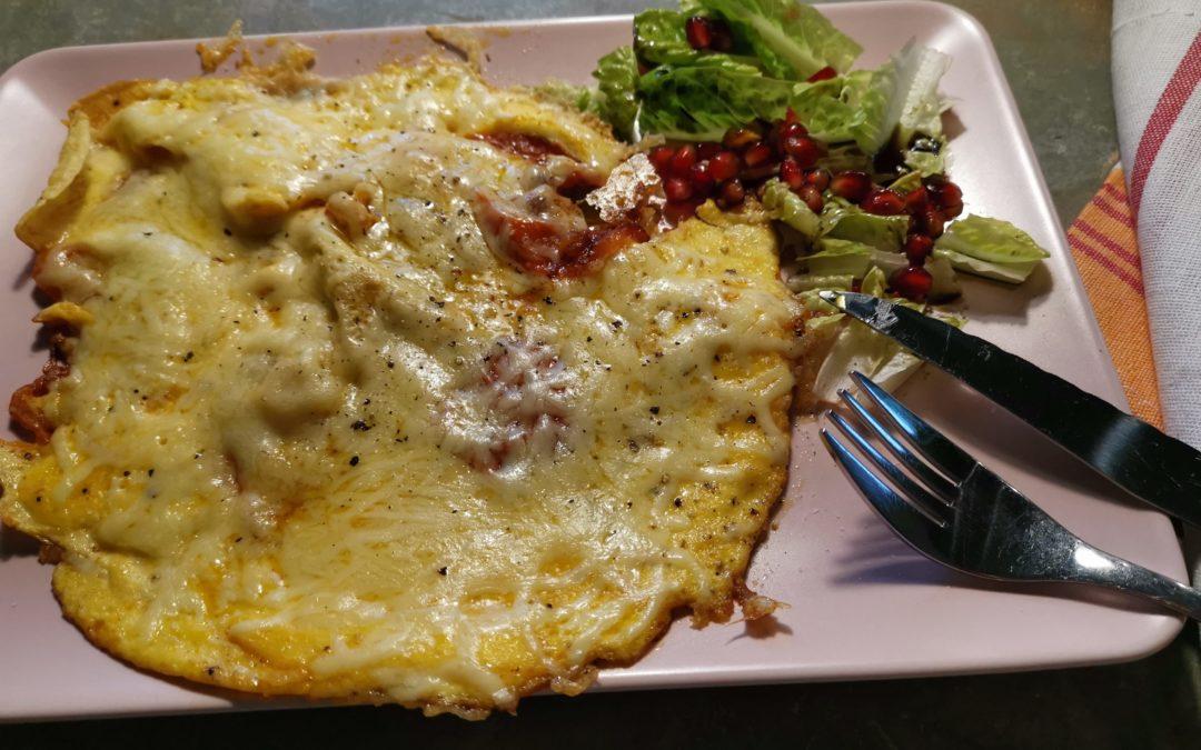 Tomaten-Käse-Omelette