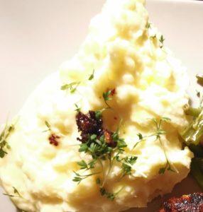 Kartoffelstampf mit Kresse