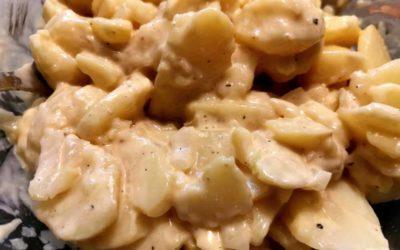 Kartoffelsalat mit selbst gemachter Mayo