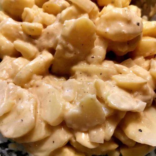 Kartoffelsalat mit selbst gemachter Majo
