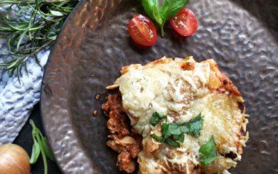 Lasagne mit Bolognese und Béchamelsauce