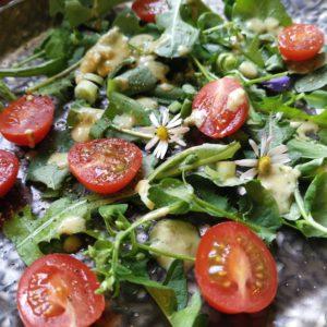 Wildkrätersalat