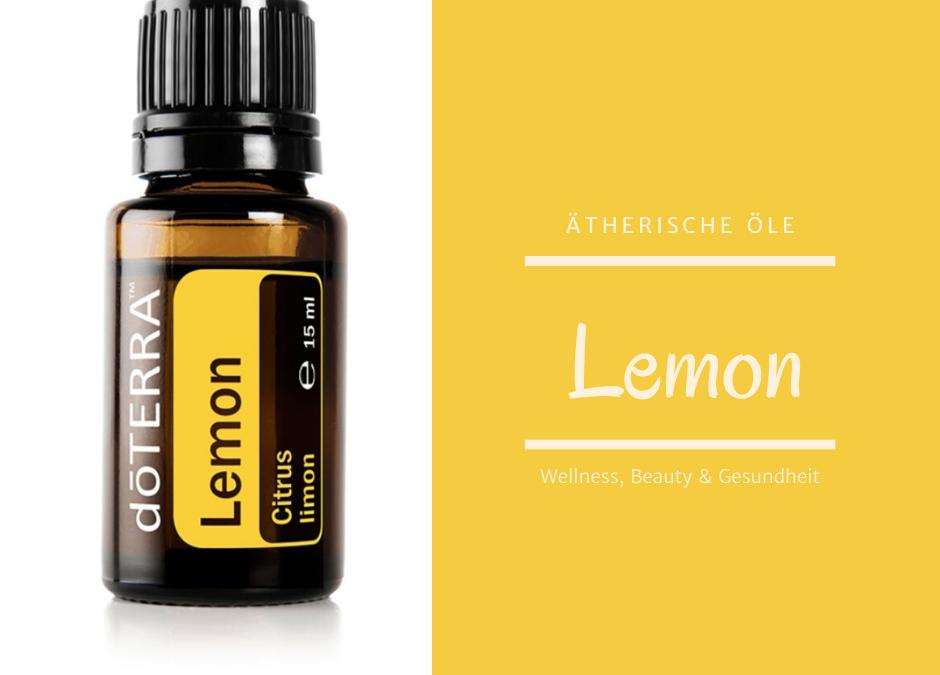 Aterische Öle - Lemon