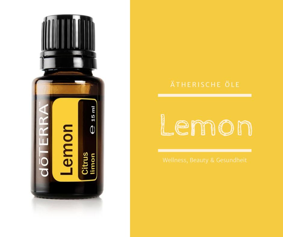 ätherische Öle- Lemon