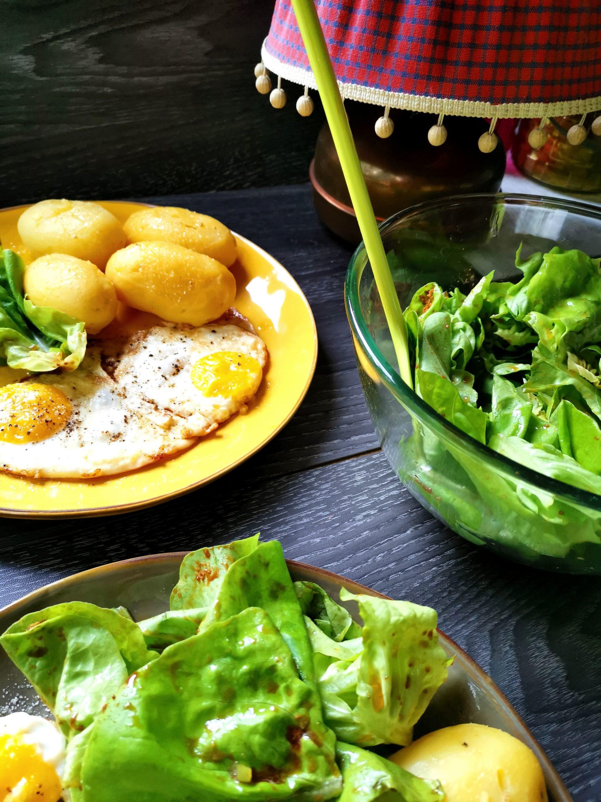 Kartoffel, Spargel, Holländische Soße