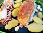 Fisch und Mediterranes Gemüse vom Grill