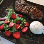 Roastbeef vom Grill mit Burrata